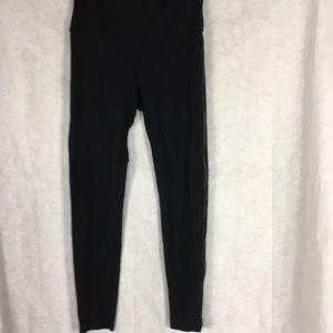 Lysse Black PONTE leggings Size medium